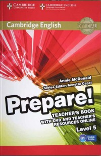 Prepare! Level 5 (Teacher's Book) by Annie Mcdonald
