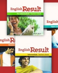 English Result Teacher's Books