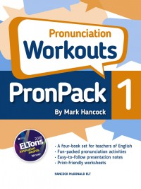 PronPack 1: Pronunciation Workouts - hancockmcdonald.com/books/titles/pronpack-1-pronunciation-workouts