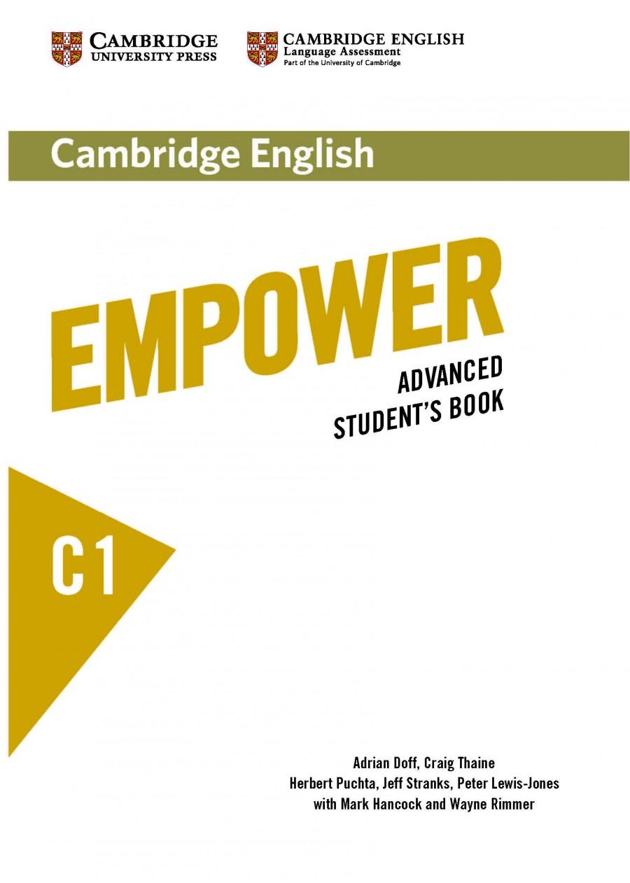 Cambridge English Empower C1   Hancock McDonald ELT