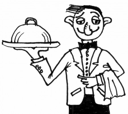 ELT Materials: The Witty Waiter