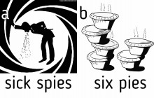 Sick Spies or Six Pies? - hancockmcdonald.com/blog/sick-spies-or-six-pies