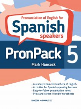 PronPack 5: Pronunciation of English for Spanish Speakers - hancockmcdonald.com/books/titles/pronpack-5-pronunciation-english-spanish-speakers