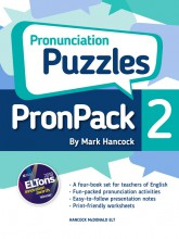 PronPack 2: Pronunciation Puzzles - hancockmcdonald.com/node/485/edit