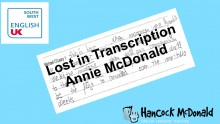 Lost in Transcription: Insights from students' mishearings - hancockmcdonald.com/talks/lost-transcription-insights-students-mishearings