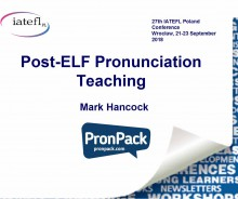 Post-ELF Pronunciation Teaching Poland - hancockmcdonald.com/talks/post-elf-pronunciation-teaching-poland