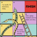 Snakes and Ladders - hancockmcdonald.com/materials/snakes-and-ladders